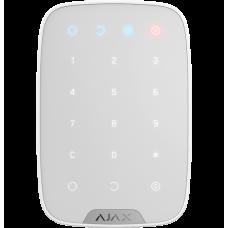 Ajax KeyPad белая беспроводная сенсорная клавиатура контроля доступа