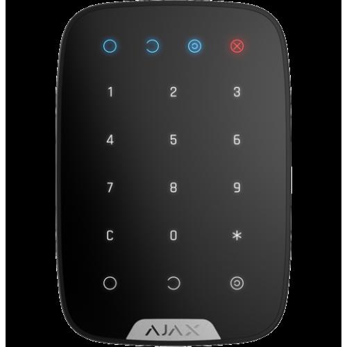 Ajax KeyPad черная беспроводная сенсорная клавиатура контроля доступа