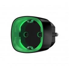 Ajax Socket черная радиоуправляемая розетка со счетчиком энергопотребления