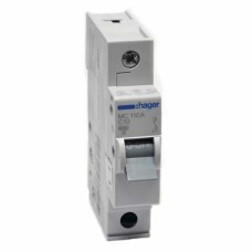 Hager MC110A 10A автоматический выключатель