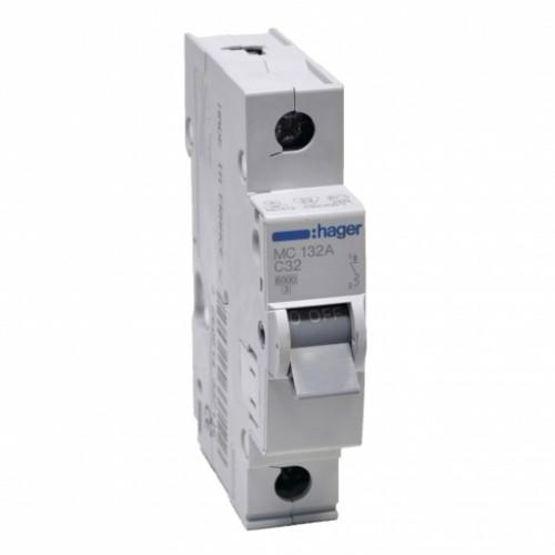 Hager MC132A 32A однополюсный автоматический выключатель
