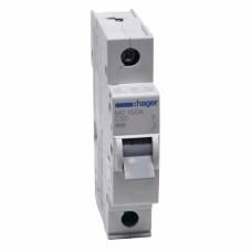 Hager MC150A 50A однополюсный автоматический выключатель