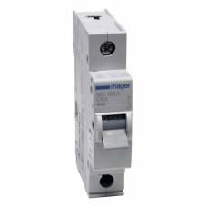 Hager MC163A 63A однополюсный автоматический выключатель