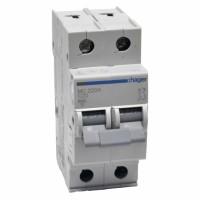 Hager MC220A 20A двухполюсный автоматический выключатель