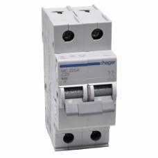 Hager MC225A 25A двухполюсный автоматический выключатель