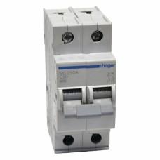 Hager MC250A 50A двухполюсный автоматический выключатель