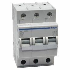 Hager MC320A 20A трехфазный автоматический выключатель