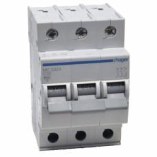 Hager MC332A 32A трехфазный автоматический выключатель
