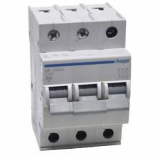 Hager MC340A 40A трехфазный автоматический выключатель