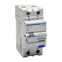 Дифференциальный автоматический выключательHager AD966J 16A
