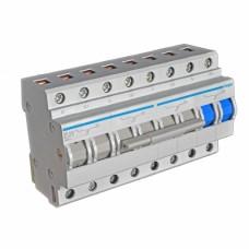 Модульный переключатель питающих вводов 4P 63А Hager SF463