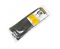 Стяжка 300х3.6 мм, 100 шт, черная, weather resistant, Panduit