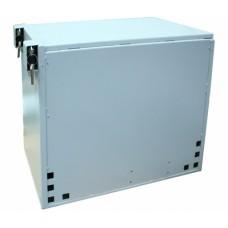 Шкаф антивандальный 9U, 450х450 мм (Г*В), серый