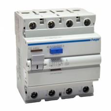 Устройство защитного отключения (УЗО) Hager CD440J 40A