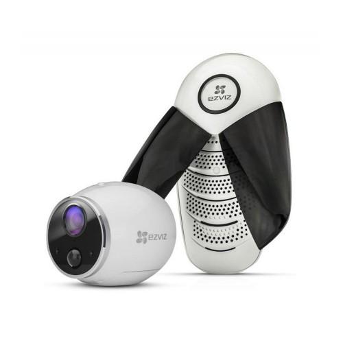 Ezviz CS-W2S-EUP-B1 (2.0) 1 Мп Wi-Fi видеокамера на батарейках с базовой станцией