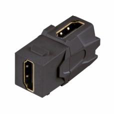 Модуль KeyStone HDMI-HDMI для розетки, черный