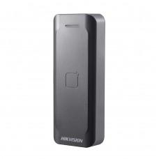 Считыватель Hikvision DS-K1802E для EM-Marine карт, черного цвета