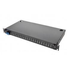 Оптическая патч-панель 2xLC Duplex адаптеры, Single Mode