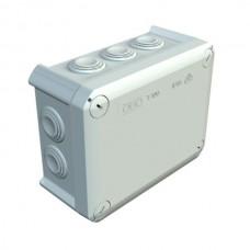 Коробка распределительная наружная пластиковая 151х117х67 мм, 10 вводов IP66