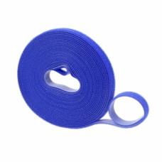 Лента-липучка 10 мм x 3 метра, синяя