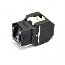 Модуль Keystone UTP RJ45 cat 6 черный, Corning