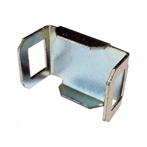 Элемент поворота сетчатого лотка D4мм (просвет 17,5мм, толщ. 1 мм), оцинкованный