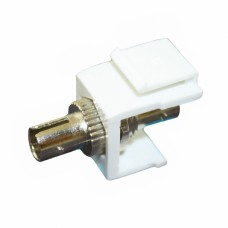 Адаптер оптический ST-ST SM симплекс с креплением Keysone