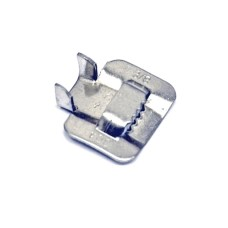 Скрепа шириной 10 мм, для фиксации бандажной ленты, нержавеющая сталь