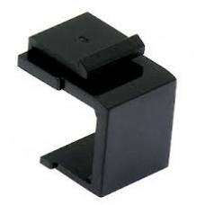 Заглушка для патч-панелей Keystone, черная