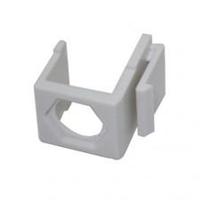 Заглушка KeyStone для розеток и патч-панелей под ТВ разъем