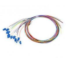 Цветные пигтейлы оптические LC/UPC MM (OM3), Easy strip, 12 шт