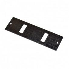 Лицевая панель 2SC Duplex для оптических боксов FOBC