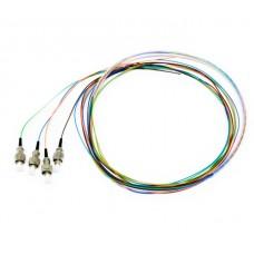 Оптические пигтейлы FC UPC цветные, 1.5 m, SM, Easy strip