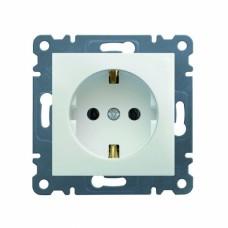 Розетка электрическая DATA 16А 230В Hager Lumina-2, белая