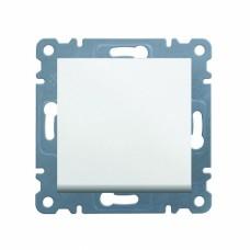 Выключатель 1-полюсный универсальный Hager Lumina-2, белый