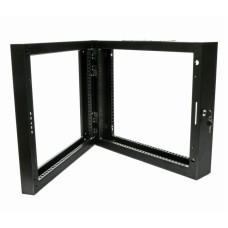 Поворотная рама для серверного шкафа 12U, черная
