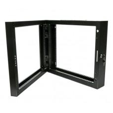 Поворотная рама для серверного шкафа 9U, черная
