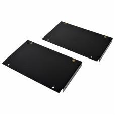 Элемент крепления блок вентиляторов для серверных шкафов шириной 800 мм, черный