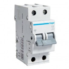 Hager MC210A 10A двухполюсный автоматический выключатель