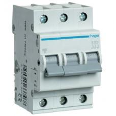 Hager MC310A 10A трехфазный автоматический выключатель