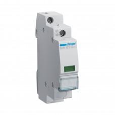Hager SVN121 LED индикатор фазы зеленый, 230В