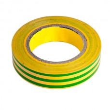 Изоляционная лента желто-зеленая 20 метров 0,14мм х 17мм