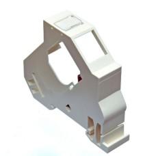 Розетка на DIN рейку под модуль KeyStone