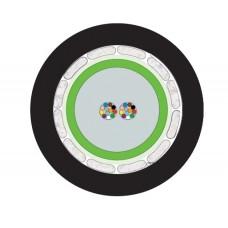 ВО кабель универсальный, A-DQ(BN)H 24G50/125 OM2, монотуб, диэлектрическая защита, оболочка FRNC