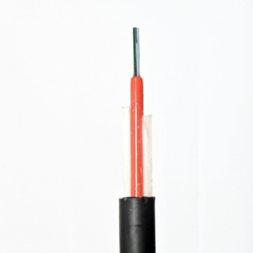 ВО кабель, диэлектрический, для подвеса, монотуб, 8E9/125, G.652D,PE, 1 kH