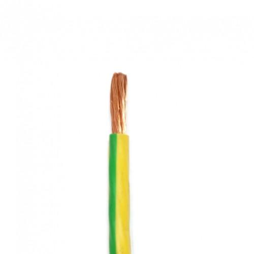 Провод ПВ 3 1х25,0 мм2, желто-зеленая ПВХ изоляция