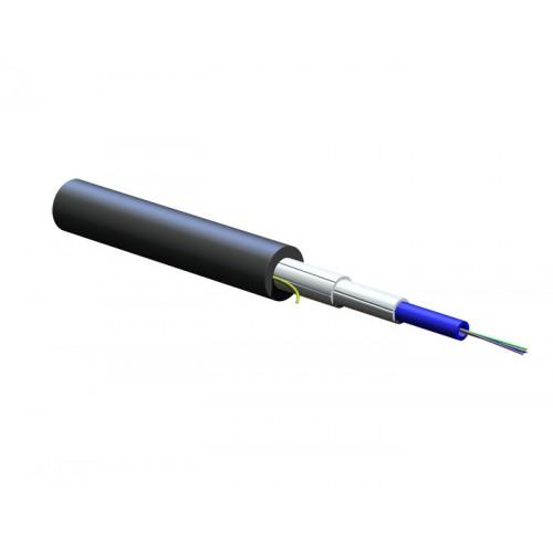 Волоконно-оптический кабель универсального применения U-BQ(ZN)BH 12E9/125, монотуб, диэлектрический, FRNC
