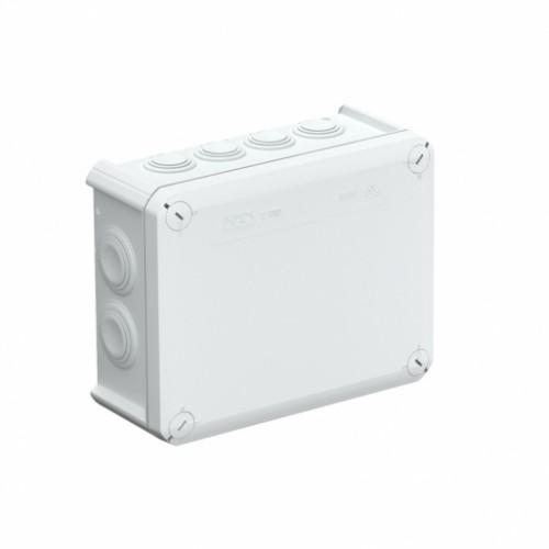 Коробка распределительная, внешняя, Пластик, 190х150х77, вводы 7хM25, 5хM32, IP66, без клемм