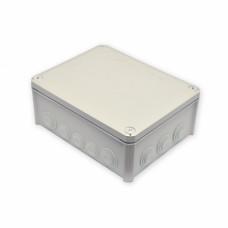 Коробка распределительная, наружная, пластиковая 240х190х95, 16 вводов IP66, без клем.