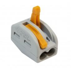 Соединитель монтажный универсальный 0,08-4мм2 , 32А , 2 провода
